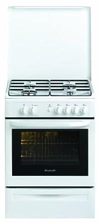 Brandt KGC1005W Cuisinière Gaz Largeur : 60 cm Blanc