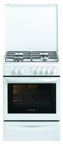 Brandt-KGC1005W-Cuisinire-Gaz-Largeur-60-cm-Blanc