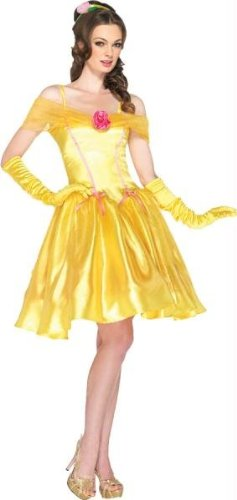 Costumes for all Occasions UADP85176LG Princess Belle Adult Yellow Lg