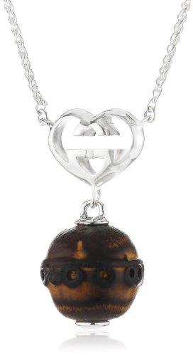 Gucci - Collana da donna, argento sterling 925, cod. YBB272782001