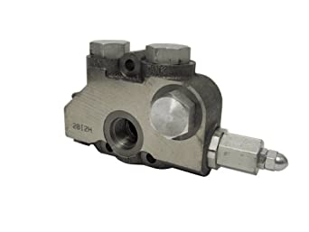 Prince 20I2J Hydraulic Directional Control Valve Inlet Section, Adjustable Port Relief 2201-3000 psi, Cast Iron, #12 SAE