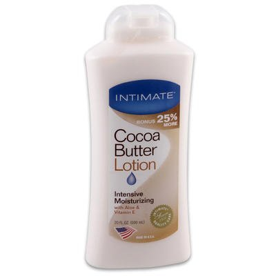 1 piece of 20 oz INTIMATE COCOA BUTTER BODY LOTION - 1