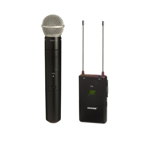 Shure Fp25/Sm58 Combo Wireless System, H5