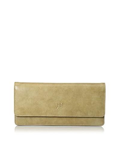 TUSK Women's Gusseted Clutch Wallet, Bone
