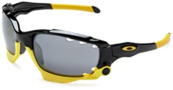 Oakley Men's Jawbone LIVESTRONG Sunglasses,Polished Black/Black Iridium,one size