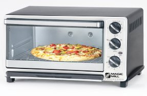 Bundle 2 Items: Magic Mill Dlx-9002 Heavy Duty Convection Oven Toaster/Broiler 1500w 120v 60hz - (Acupwr Plug Kit) (1500 Watt Toaster Oven Broiler compare prices)
