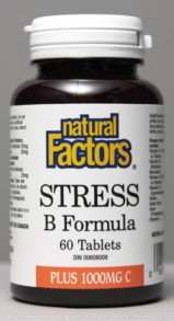 Stress B +1000Mg Vitamin C (60Tablets) Brand: Natural Factors