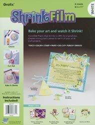 Grafix Shrink Film 8.5