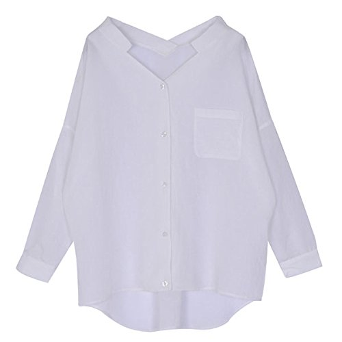 (ムルーア)MURUA ロングrelaxシャツ 011510402901 ホワイト F
