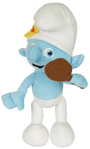 "Movie The Smurfs 9.5"" Plush Figure Doll - Vanity Smurf - 1"