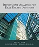 Investment Analysis for Real Estate D...