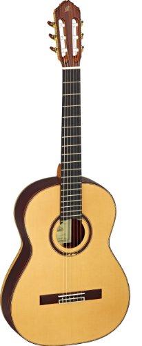 M9CS Konzertgitarre Custom Master Selection Serie in 4/4 Größe handgefertigt in Spanien vollmassiv natur hochglänzendes Finish inklusive Luxuskoffer