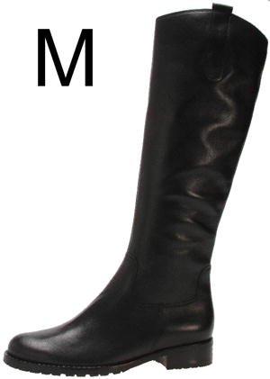 Gabor, Stivali donna, Nero (nero), 42
