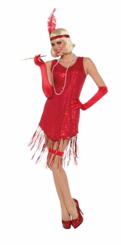 Forum Novelties Roaring 20's Swingin' In Sequins Flapper Costume