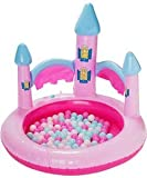 Perfect for your little princess,An adorable castle design Princess Ball Pit.