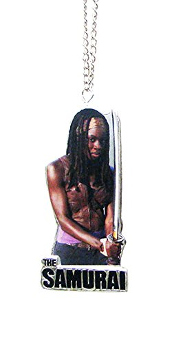 The Walking Dead Flatback Resin Ornament - Michonne The Samurai