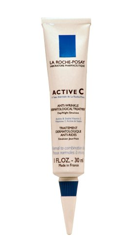 La Roche-Posay Active C Anti-Wrinkle Dermatological Treatment for Normal to Combination Skin (30ml) 1 Fluid Ounce