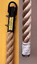 Manila Climbing Rope with Whipped End - 18 Feet Long