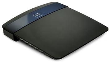 Linksys E3200-EZ Router Wireless N 300 Mbps,doble banda simultanea, conector USB para almacenamiento y servidor de impresión, puertos gigabit, IPv6 nativo.