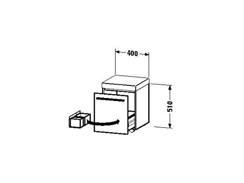 Duravit-Rollcontainer-X-Large-400x400x510mm-1-Auszug-1-Polster-nussbaum-natur-XL270407979