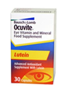 Ocuvite Eye Vitamin Mineral Food Supplement Lutein 30 Capsules