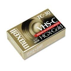 MAX203010 - Maxell High Grade VHS-C Videotape Cassette