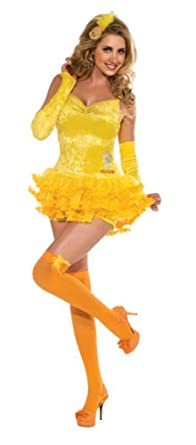 Secret Wishes Looney Tunes Sexy Tweety Costume Dress, Yellow, X-Small
