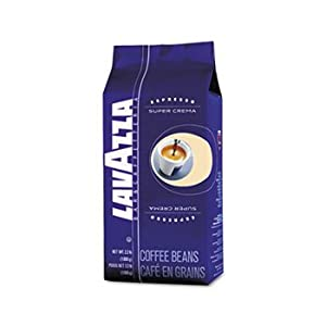 Super Crema Whole Bean Espresso Coffee, 2.2 lb. Bag, Vacuum-Packed by LAVAZZA (Catalog Category: Office Maintenance, Janitorial & Lunchroom / Food & Beverage)