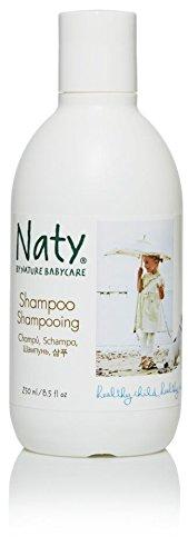 Naty Eco Shampoo, Perfume Free,  8.5-Ounce (Pack of 2)