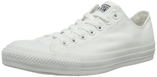 Converse Ctas Mono Ox, Baskets mode mixte adulte, Blanc, 38 EU (UK: 5.5 )