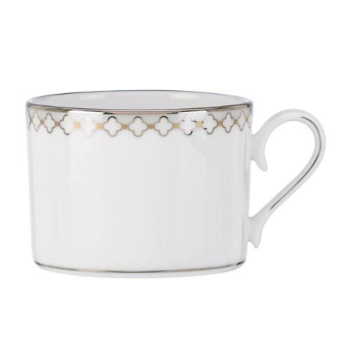 Lenox 825863 Quatrefoil Tea Cup, White
