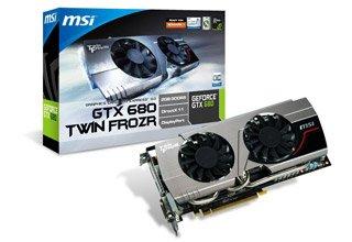 MSI社製 NVIDIA GeForce GTX680搭載 ビデオカード N680GTX TWIN FROZR III OC