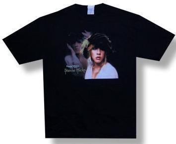 Stevie Nicks 'Crystal Visions' Black 2-Sided T-Shirt (Large)