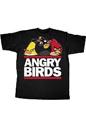 Angry Birds Run DMC Logo T-shirt