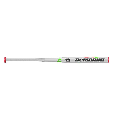 DeMarini Vendetta Fastpitch Bat, White/Pink