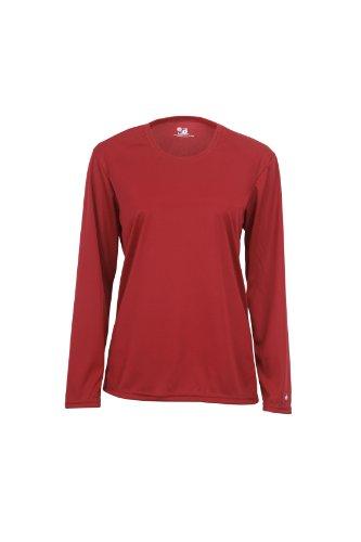 badger-sportswear-womens-b-dry-long-sleeve-performance-tee-red-bd4164-m