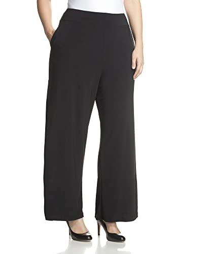 Melissa Masse Plus Women's Wide Leg Pant