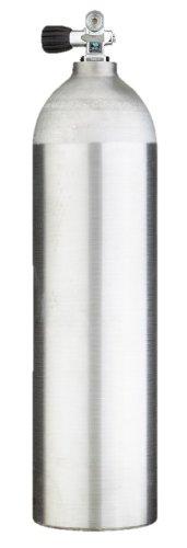80cf Scuba Diving Tank - New Aluminum Cylinder with Combo Valve