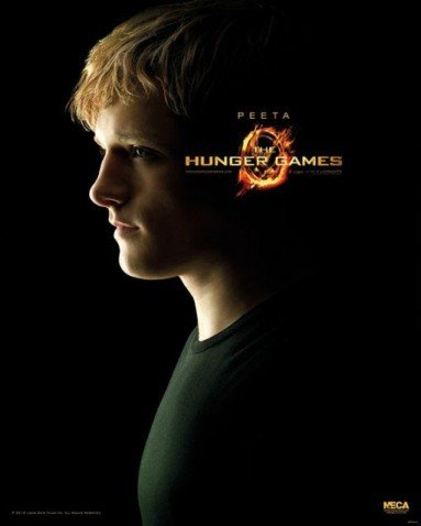 (16x20) The Hunger Games - Peeta Movie Poster