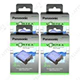 1 Year Supply of Panasonic WES035P-4PACK Vortex Hydraclean Cartridges, 12 Cartridges