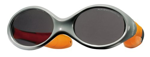 Julbo Infant/Toddler's Looping II Sunglasses, 12-24 months, Dark Grey/Orange Frame with Cord