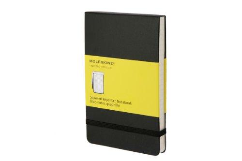 312b4jZi8hL. SL500  Moleskine Reporter Notebook, Pocket, Squared, Black, Hard Cover (3.5 x 5.5) (Reporter Notebooks)