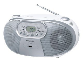 Panasonic RX-DU10 - Portable Stereo CD System with AM/FM Radio, MP3, CD-R/RW, USB Playback and Music Port - For 220V Countries niorfnio portable 0 6w fm transmitter mp3 broadcast radio transmitter for car meeting tour guide y4409b