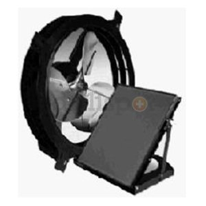 Air Vent Attic Aire Solar Powered Gable Fan
