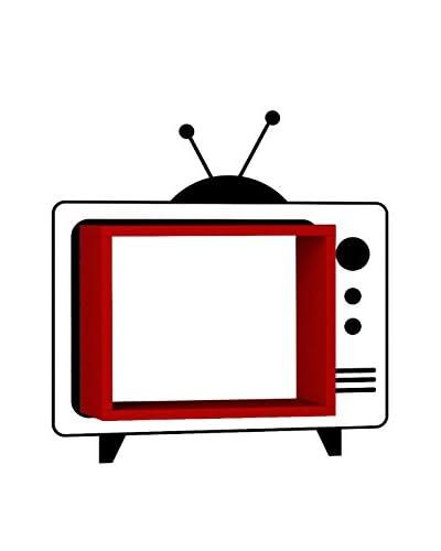 Mat Maison Wandplank Tv rood