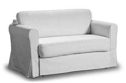 bezug f r ikea hagalund 2er bettsofa m nchen in wei von saustark. Black Bedroom Furniture Sets. Home Design Ideas