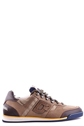 DSQUARED2 HERREN MCBI107125O MULTICOLOUR STOFF SNEAKERS thumbnail