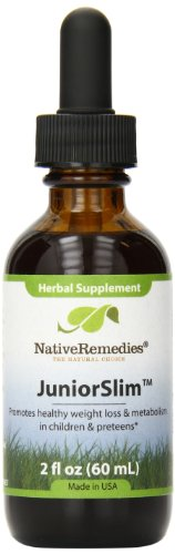 Native Remedies JuniorSlim to Prevent Weight Gain and Obesity in Children (50ml)