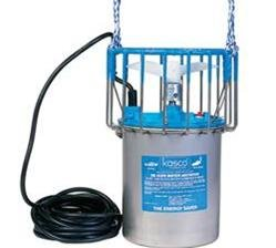 Kasco Marine 3400Ha100 - De-Icer, 3/4Hp, 240 Volts, Clears A Circle Up To 75' Diameter, 100' Cord