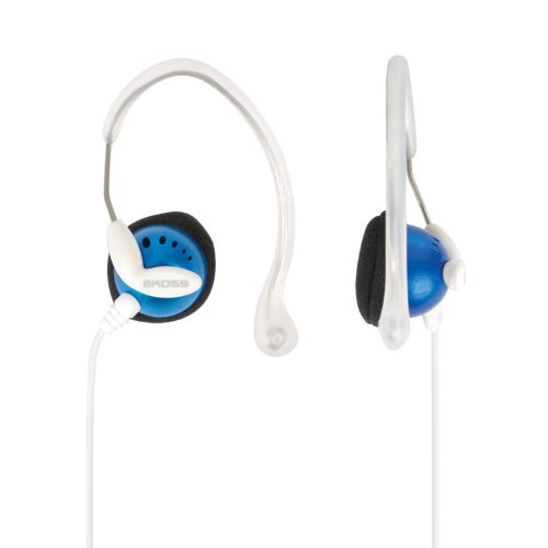Koss Clipperblu Sportclip Lightweight Clip-On Stereophone With In-Line Volume Control